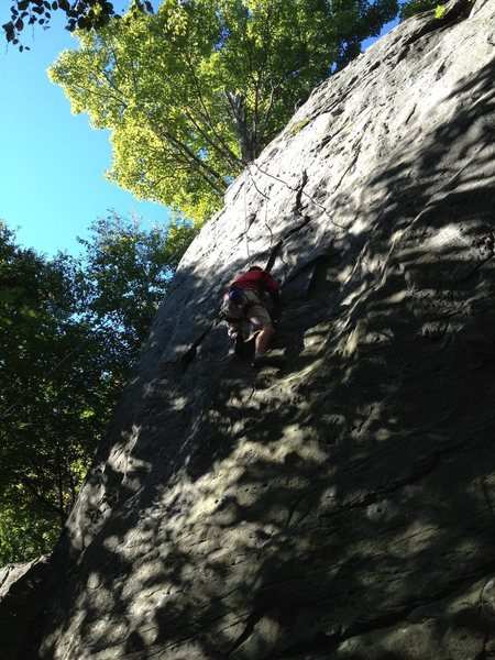 Rock Climbing Photo: Zi on Nemosis