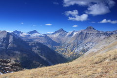 Rock Climbing Photo: The Sneffels Range and Yankee Boy Basin.