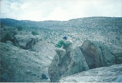 Rock Climbing Photo: The land of 1,000,000 boulders.