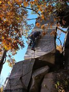 Rock Climbing Photo: Burt gives it a go
