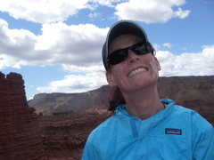 Rock Climbing Photo: Happiest woman alive!