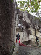 Rock Climbing Photo: An awkward mantel