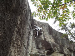 Rock Climbing Photo: Almost done