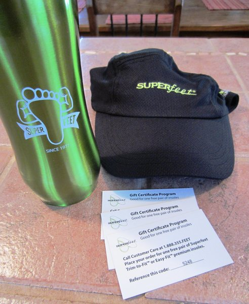 Superfeet Gift Certificates and Schwag