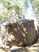 Rock Climbing Photo: Mancala is the blunt left arete.