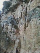 Rock Climbing Photo: Sam and Matt on the FA!