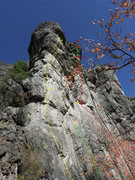 Rock Climbing Photo: the first routes as you come up to Fucoidal Quartz...