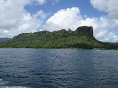 Rock Climbing Photo: Sokehs Island, Pohnpei, FSM. Sokehs Ridge, Adam's ...