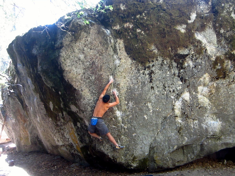 Rock Climbing Photo: Slapshot (V8)