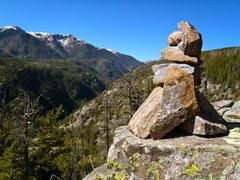 Rock Climbing Photo: High Times cairn.