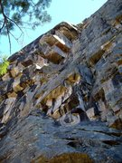 Rock Climbing Photo: Triple roofs indicating you're under the right rou...