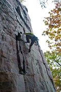 Rock Climbing Photo: On-sighting Berkeley on a cold October afternoon