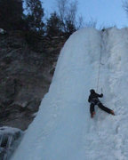 Rock Climbing Photo: Vail - Pumphouse Falls - Tams