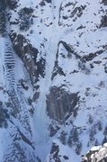 Rock Climbing Photo: Ouray - US Hwy 550 - Horsetail Falls A couple from...