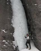 Rock Climbing Photo: Ouray - Camp Bird Road - Skylight  Post climb cele...