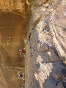 Rock Climbing Photo: P4 Dark Shadows, Red Rock