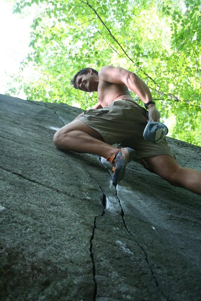 Rock Climbing Photo: Working Zig Zag Crack