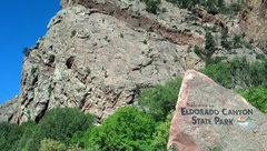 Rock Climbing Photo: Eldo Canyon