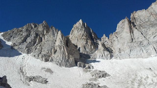 Rock Climbing Photo: Matterhorn Peak Sierra Nevada's CA