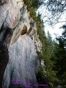 Rock Climbing Photo: Right end of millenium wall