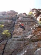 Rock Climbing Photo: Titus.