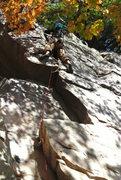 Rock Climbing Photo: Dunbar again.  Multiple shadowing makes it hard to...