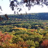 I try and post one every year around this time.  South Bluff in nice fall colors taken from base of White Wall, West of the Quarry Rocks, East Bluff DL 10-07-12.