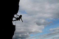 Rock Climbing Photo: chloe...