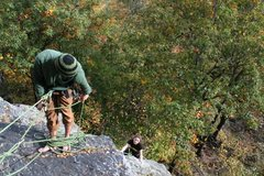 Rock Climbing Photo: jared and chloe