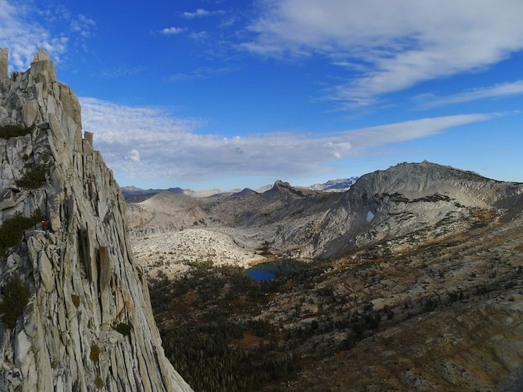 Rock Climbing Photo: Cathedral Range from Eichorn's summit