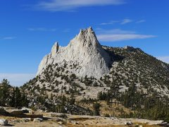 Rock Climbing Photo: Cathedral as approached from Echo Ridge