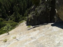 Rock Climbing Photo: Bay Area climbers Mark and Stephen on P2