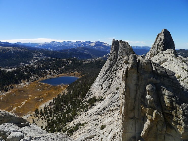 Rock Climbing Photo: fall in Tuolumne