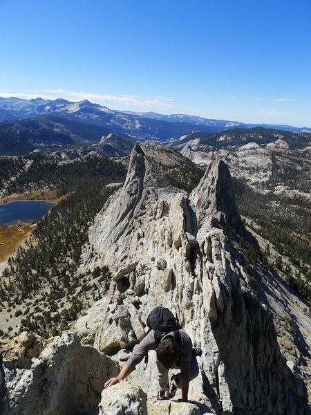 Rock Climbing Photo: Daniel's first trip