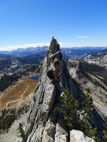 Rock Climbing Photo: break