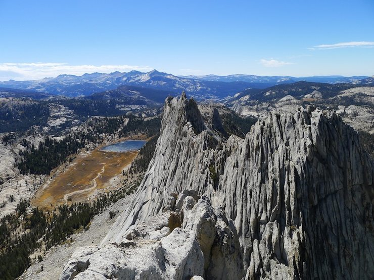 Rock Climbing Photo: S summit views