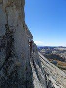 Rock Climbing Photo: another downclimb