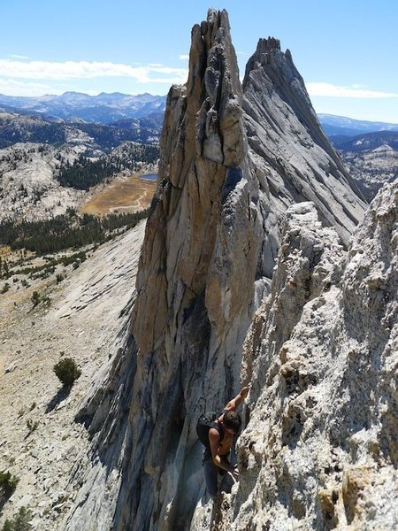 Rock Climbing Photo: the real final tower