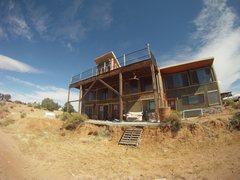 Rock Climbing Photo: E's homestead