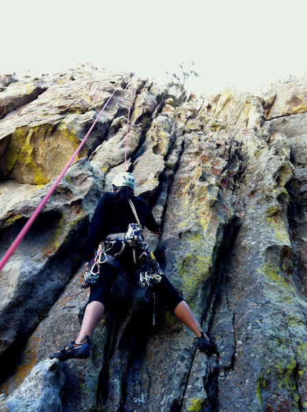 Rock Climbing Photo: Notice the nice vertical features that make for ex...