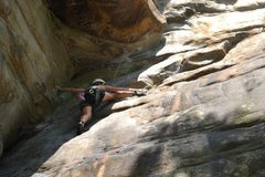Rock Climbing Photo: Four Sheets to the Wind, NRG, WV