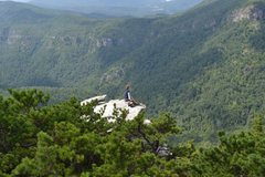 Rock Climbing Photo: Hawksbill Mountain, NC