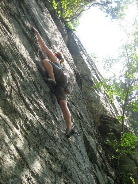 Rock Climbing Photo: Unknown, 5.8, The Dump, NC