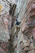 Rock Climbing Photo: Thoroughfare onsight. TR style