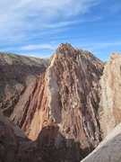 Rock Climbing Photo: View of the Great White Ridge from the summit of &...