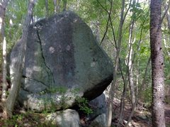 Rock Climbing Photo: Lonely Boulder