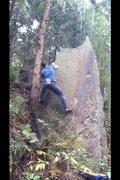 Rock Climbing Photo: Highball Arete V3