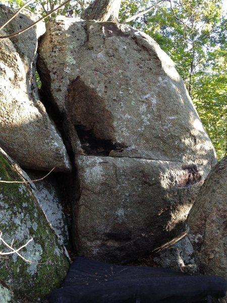 Rock Climbing Photo: homeless block