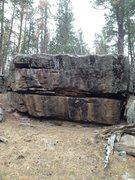 Rock Climbing Photo: Hanta Claus boulder.