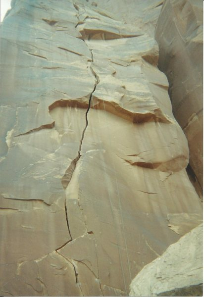 Rock Climbing Photo: Here is a shot from the bottom. Good stuff.